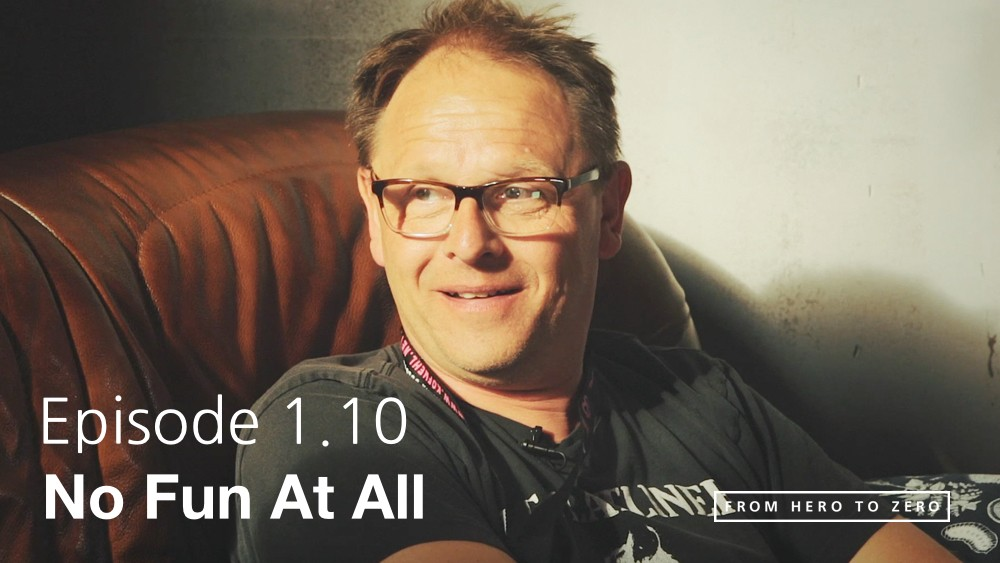 EPISODE 1.10: No Fun At All with Ingemar Jansson and the art of DIY