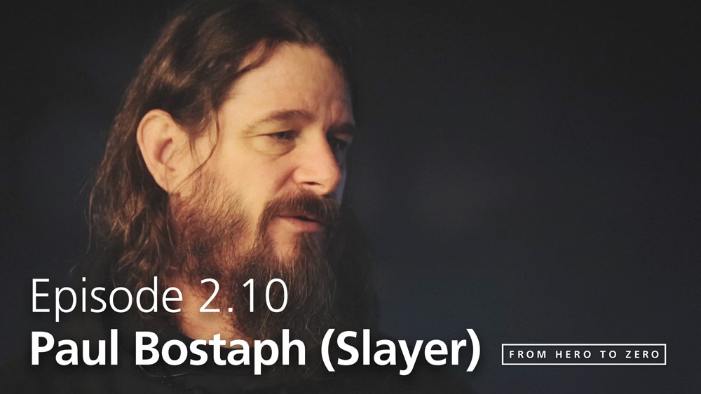 EPISODE 2.10: Slayer's Paul Bostaph talks modern communication and analyzing himself