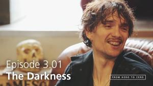 Justin Hawkins, The Darkness | www.from-hero-to-zero.com | Episode 3.01