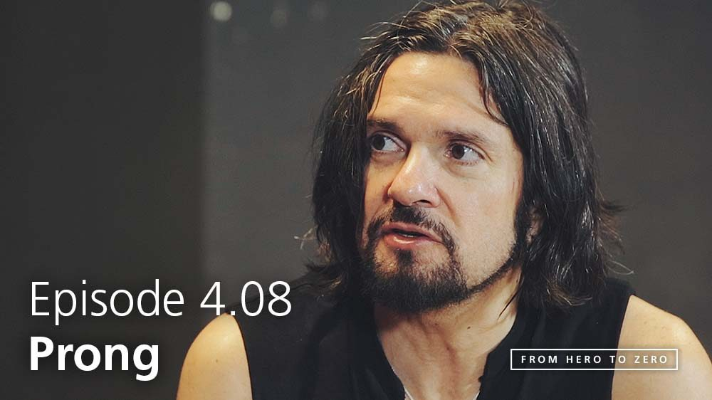 EPISODE 4.08: Tommy Victor of Prong on the legacy of the band, technology and lifestyle