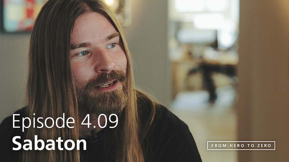 EPISODE 4.09: Pär Sundström of Sabaton on early days, all-ages shows and The Last Stand