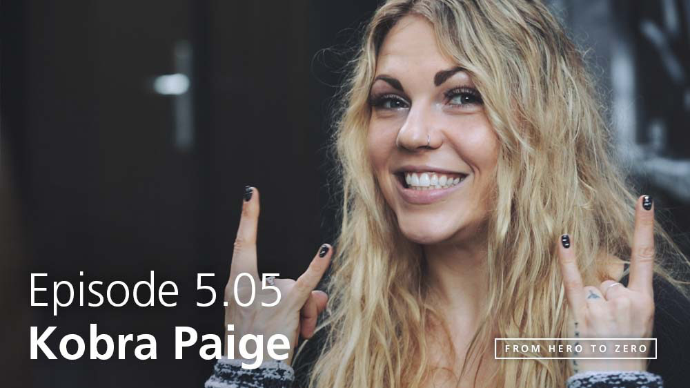 EPISODE 5.05: Kobra Paige of Kobra and the Lotus discusses their recent PledgeMusic campaign