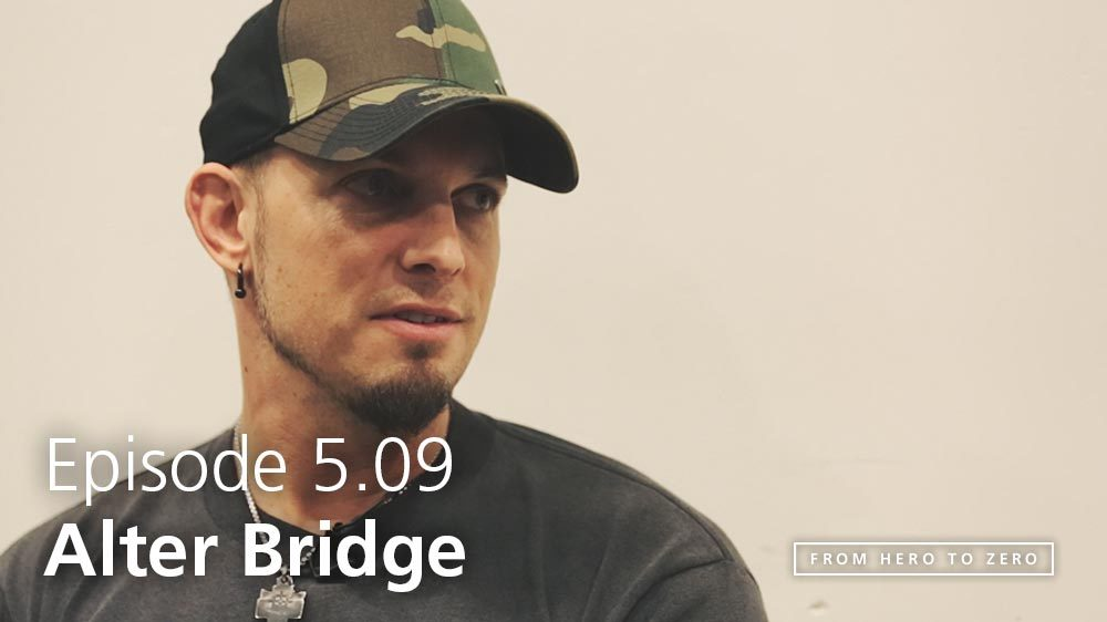EPISODE 5.09: Mark Tremonti of Alter Bridge reflects on a changing business environment