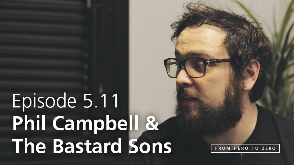 EPISODE 5.11: Todd Campbell of Phil Campbell and the Bastard Sons on starting out as a new band