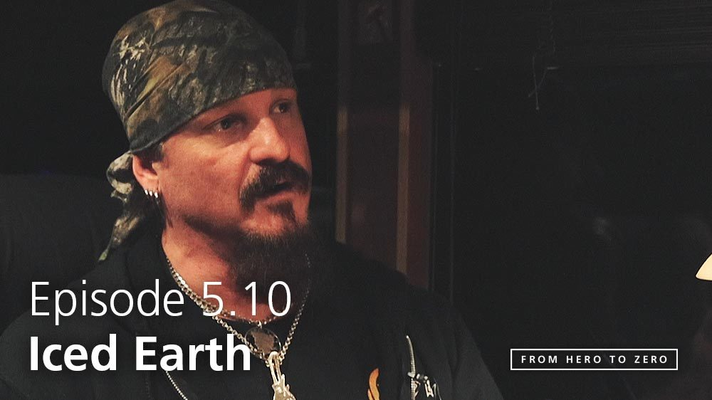EPISODE 5.10: Jon Schaffer of Iced Earth on changing the business model