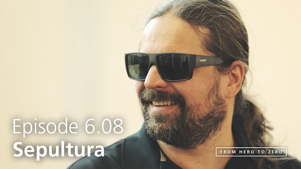 EPISODE 6.08: Andreas Kisser of Sepultura on technology and robotics in music and in general