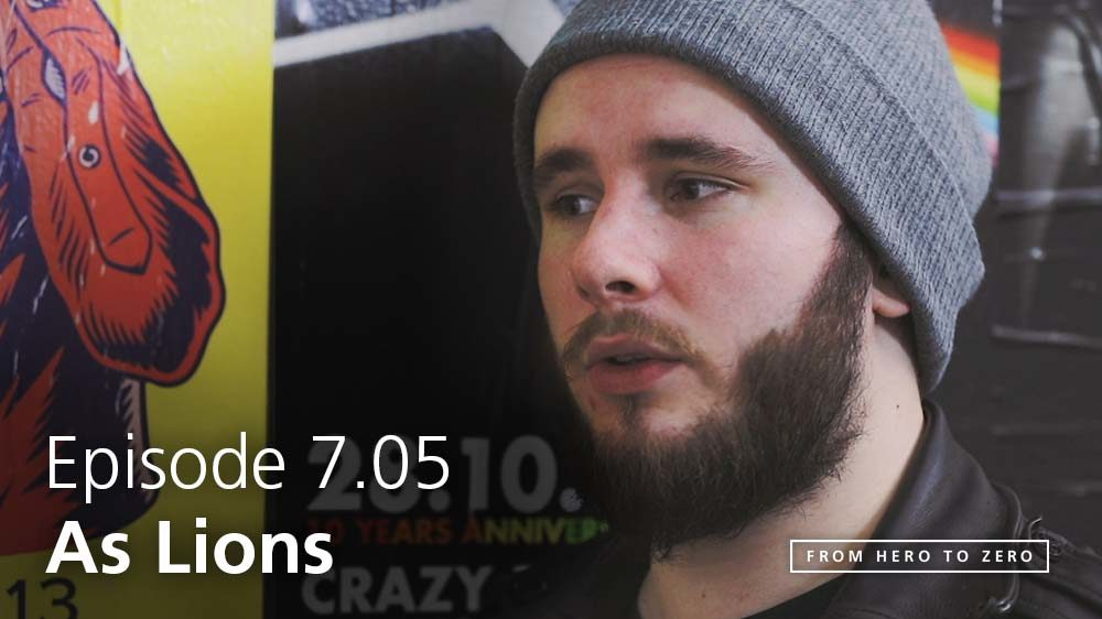 EPISODE 7.05: Austin Dickinson of As Lions on challenges and opportunities for younger bands