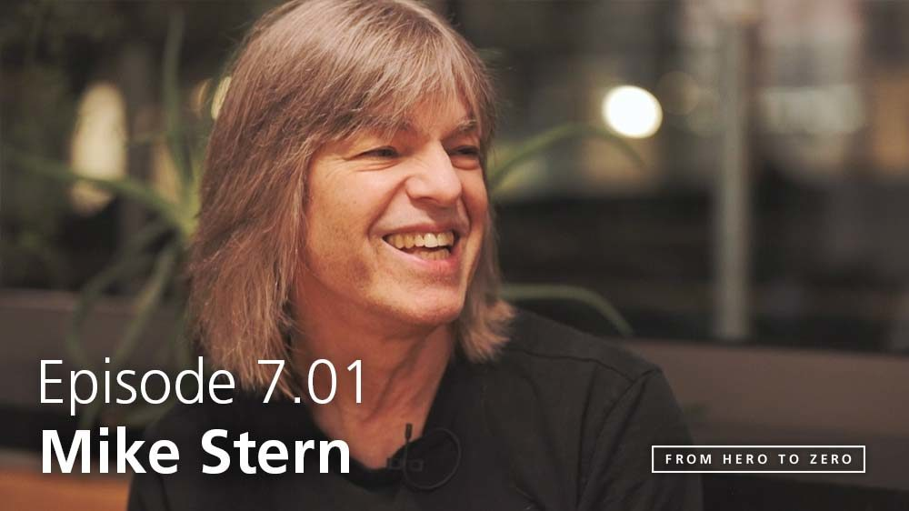 EPISODE 7.01: Mike Stern on how technology has altered what it means to be a musician
