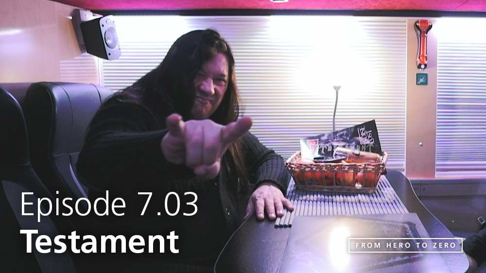 EPISODE 7.03: Testament's Eric Peterson on what it means to be an artist today