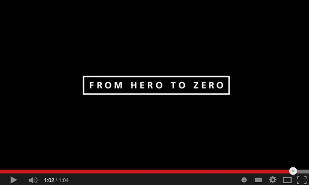 From Hero To Zero (Official Teaser)