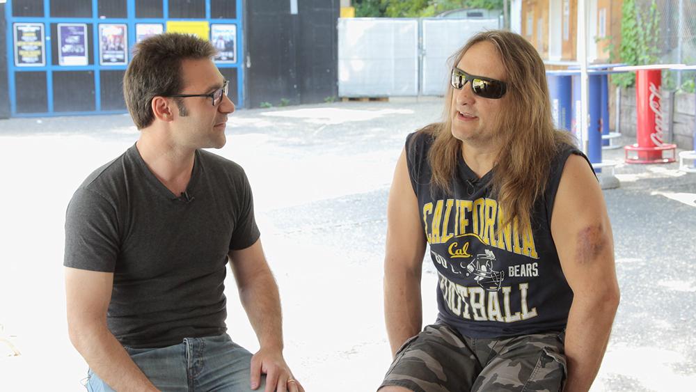 Tom Hunting, drummer of Exodus | Photo: From-Hero-To-Zero.com