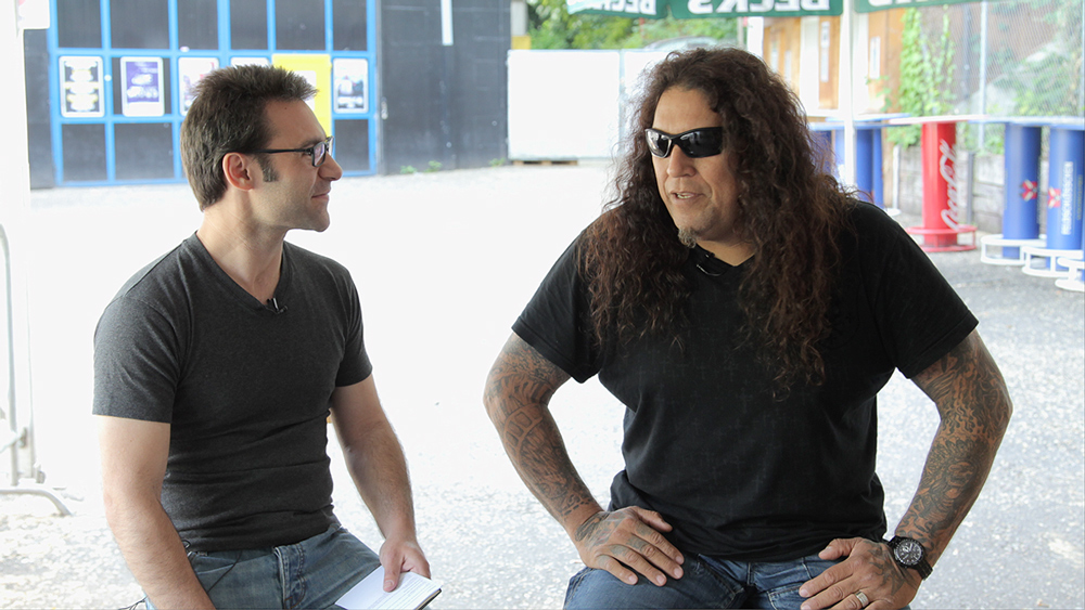 Chuck Billy, lead singer of Testament   Photo: From-Hero-To-Zero.com