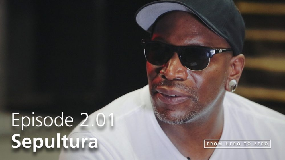 EPISODE 2.01: Derrick Green of Sepultura on trends in the music industry
