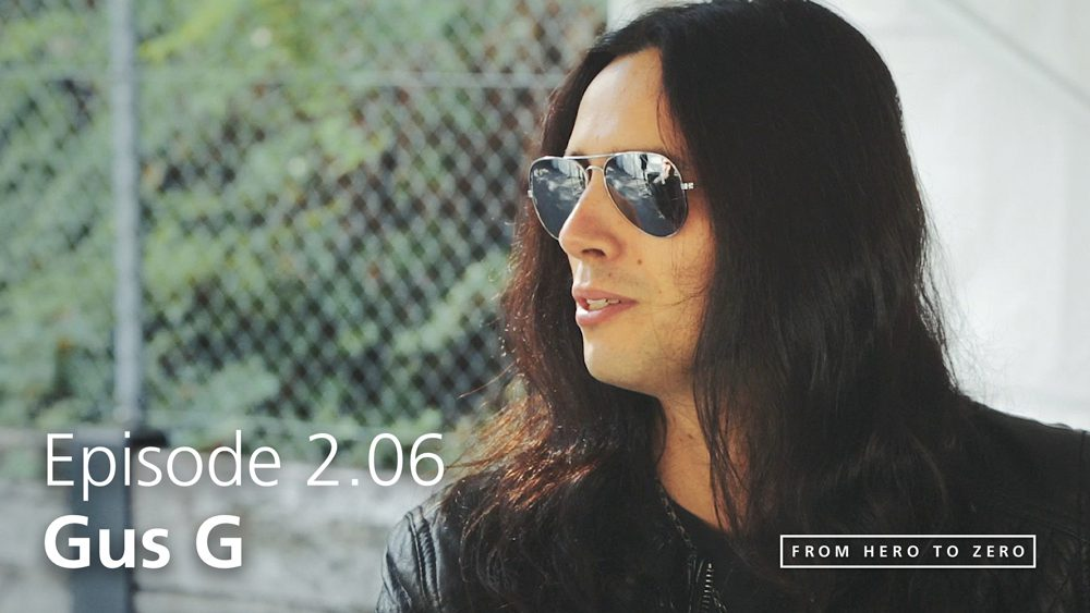 EPISODE 2.06: Gus G on artists with passion, branding, and how to adapt