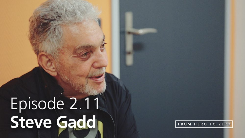EPISODE 2.11: Steve Gadd on being a musician in today's technology-driven environment