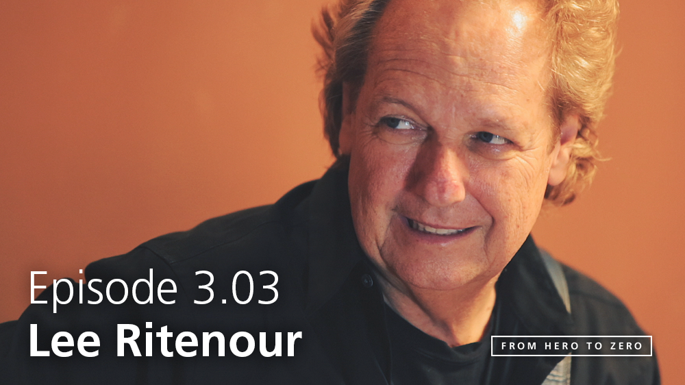 EPISODE 3.03: Lee Ritenour talks technology and social changes in the music business