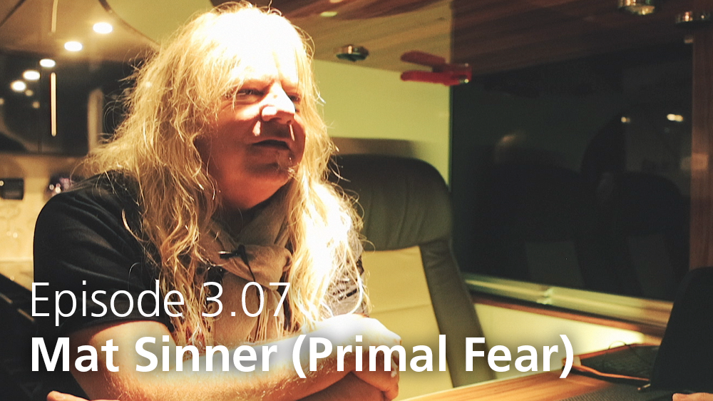 EPISODE 3.07: Mat Sinner of Primal Fear talks music business models and crowdfunding