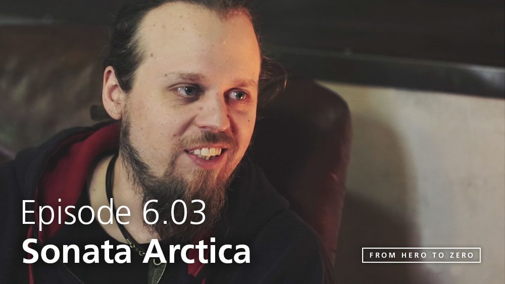 EPISODE 6.03: Sonata Arctica's Henrik Klingenberg on consumer behaviour, convenience of new tech and more